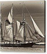 Tall Ship II Acrylic Print