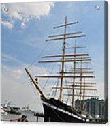 Tall Ship Mushulu At Penns Landing Acrylic Print