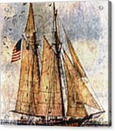 Tall Ships Art Acrylic Print