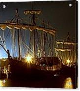 Tall Ships Acrylic Print