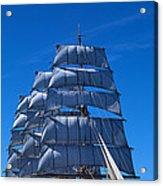 Tall Ships Race In The Ocean, Baie De Acrylic Print