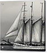 Tall Ships Sailing Boat Acrylic Print