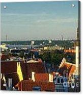 Tallinn Old Town 3 Acrylic Print