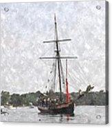 Tallship Providence Prwc Acrylic Print