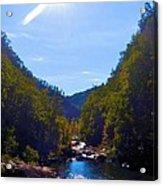 Tallulah Gorge In October Acrylic Print