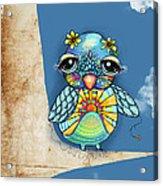 Tallulah Sunshine Acrylic Print by Karin Taylor