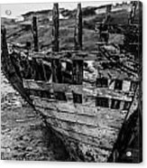 Talmine Shipwreck Acrylic Print