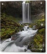 Tamawanas Falls In Summer Acrylic Print