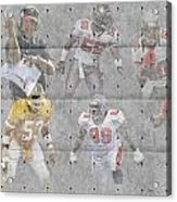 Tampa Bay Buccaneers Legends Acrylic Print