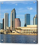 Tampa Bay Classic View Acrylic Print
