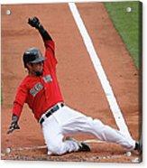 Tampa Bay Rays V Boston Red Sox - Game Acrylic Print