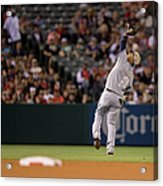 Tampa Bay Rays V Los Angeles Angels Of Acrylic Print