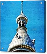 Tampa Beauty - University Of Tampa Photography By Sharon Cummings Acrylic Print