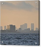 Tampa From The West Shore Acrylic Print