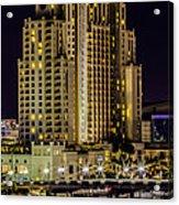 Tampa Marriott Waterside Hotel And Marina Acrylic Print