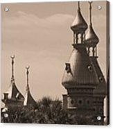 Tampa Minarets  Acrylic Print by Carol Groenen