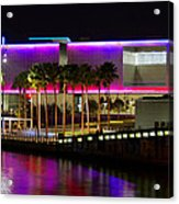 Tampa Museum Of Art In Hdr Acrylic Print