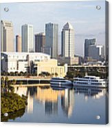Tampa Reflections Acrylic Print