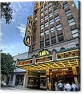 Tampa Theater 2 Acrylic Print by Al Hurley