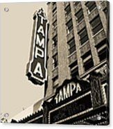 Tampa Theatre Acrylic Print