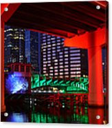 Colorful Tampa Bay Florida Acrylic Print