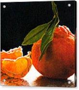 Tangelo Slices Acrylic Print