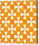 Tangerine Twirl Acrylic Print