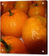 Tangerines 01 Acrylic Print by Brian Gilna