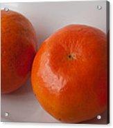 Tangerines3 Acrylic Print by Lena Wilhite