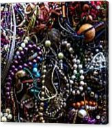 Tangled Baubles Acrylic Print