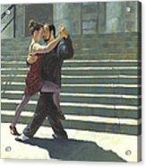 Tango On The Square Acrylic Print