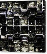 Tank Track Acrylic Print