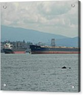 Tankers Acrylic Print