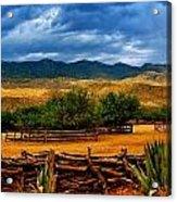 Tanque Verde Ranch Tucson Az Acrylic Print