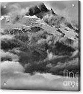 Tantalus Mountain Storms Acrylic Print