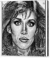 Tanya Roberts In 1981 Acrylic Print