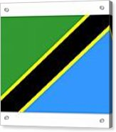 Tanzania Flag Acrylic Print