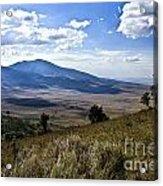 Tanzania Scenery Acrylic Print
