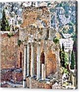 Taormina Amphitheater Acrylic Print