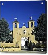 Taos Adobe Church Acrylic Print