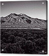Taos In The Zone Acrylic Print