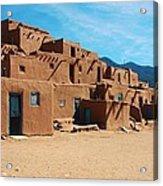 Taos Pueblo 4 Acrylic Print