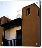 Taos Pueblo Church 2 Acrylic Print