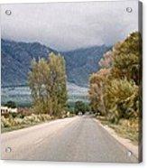 Taos Road Acrylic Print