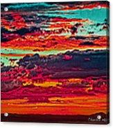 Taos Sunset Xix Acrylic Print