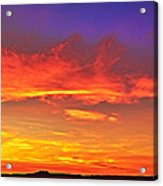 Taos Sunset Xxxx Acrylic Print