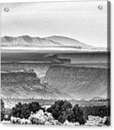 Taos Volcanic Plateau Acrylic Print