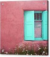 Taos Window I Acrylic Print