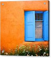 Taos Window IIi Acrylic Print