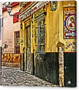 Tapas Bar In Sevilla Spain Acrylic Print